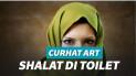 Ilustrasi perempuan muslim