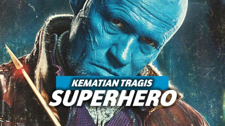 Tragis Banget, Kematian 7 Superhero Ini Buat Penonton Sedih! | Keepo.me
