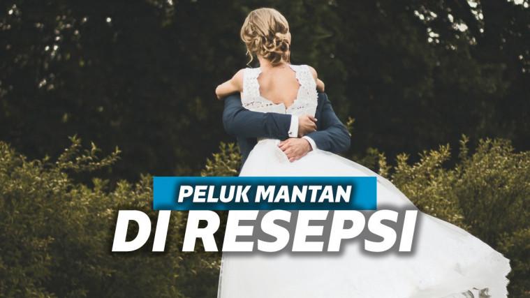 Mempelai Wanita Izin Suami Peluk Mantan, Warganet: Pasangan Open Minded? | Keepo.me