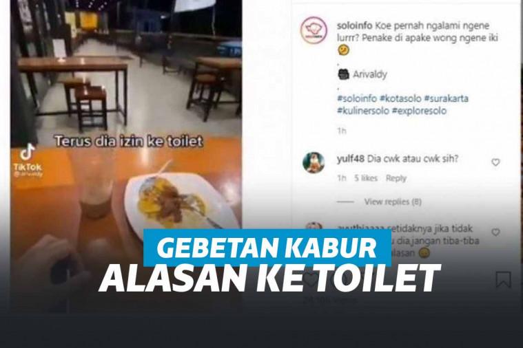 Mengaku Ingin ke Toilet, Cewek Ini Kabur Tinggalkan Pasangan Kencannya dari Aplikasi | Keepo.me