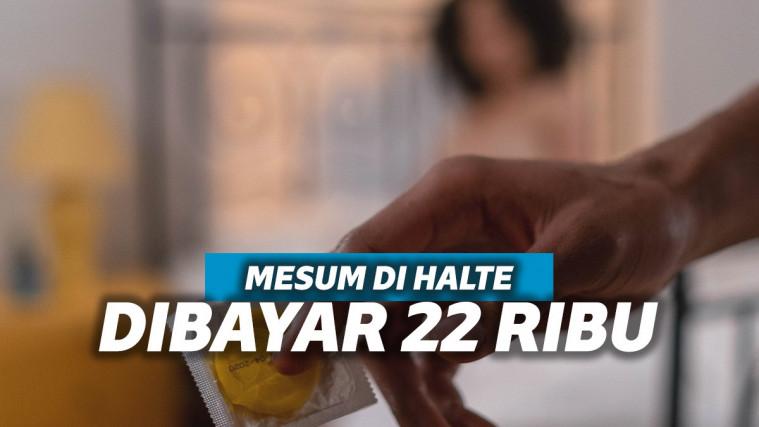 Wanita Mesum di Halte Senen Mengaku Dibayar 22 Ribu Oleh Lelaki yang Baru Dikenalnya | Keepo.me