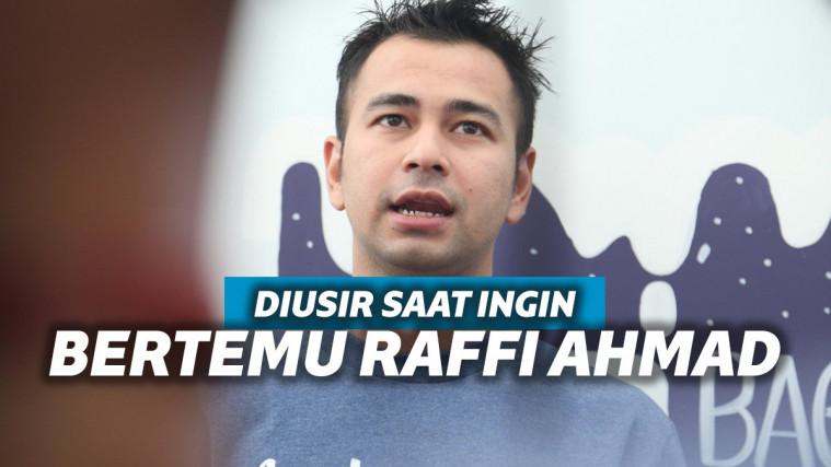 Diusir Saat Ingin Bertemu Raffi Ahmad, Pria Ini Mengadu ke Baim Wong | Keepo.me