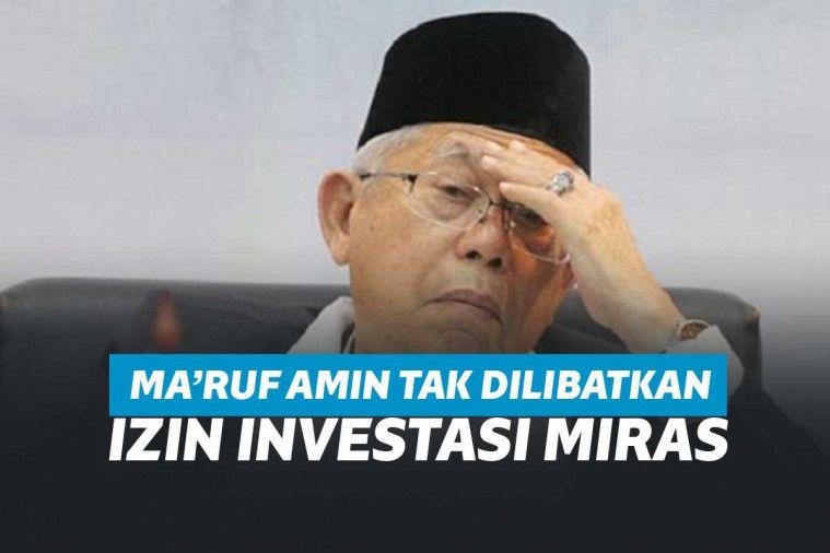 Ma'ruf Amin Mengaku Tak Tahu dan Tak Dilibatkan Terkait Izin Investasi Miras Jokowi | Keepo.me