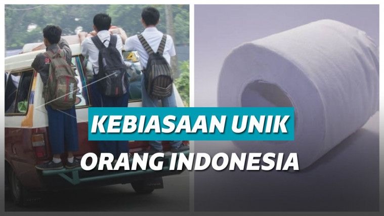 Sederet Kebiasaan Orang Indonesia yang Dianggap Aneh Oleh Bu