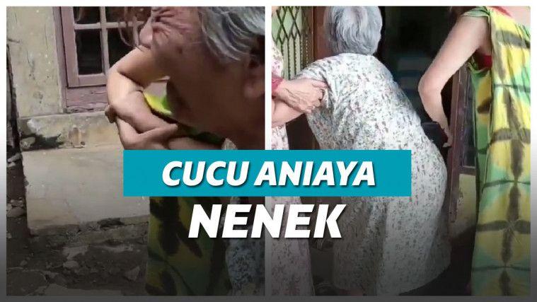 Cucu Tega Aniaya Nenek Gara-gara Minta Uang untuk Judi