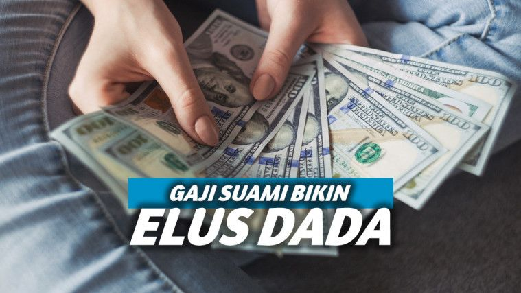 Buka Amplop Gaji Suami Jadi Guru Selama Sebulan, Isinya Bikin Istri Ngelus Dada | Keepo.me