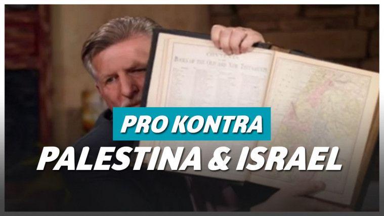 Palestina Diklaim Tak Pernah Ada, Pendeta Asal Amerika Berkata Sebaliknya: Israel Yang Tidak Ada, Adanya Palestina | Keepo.me