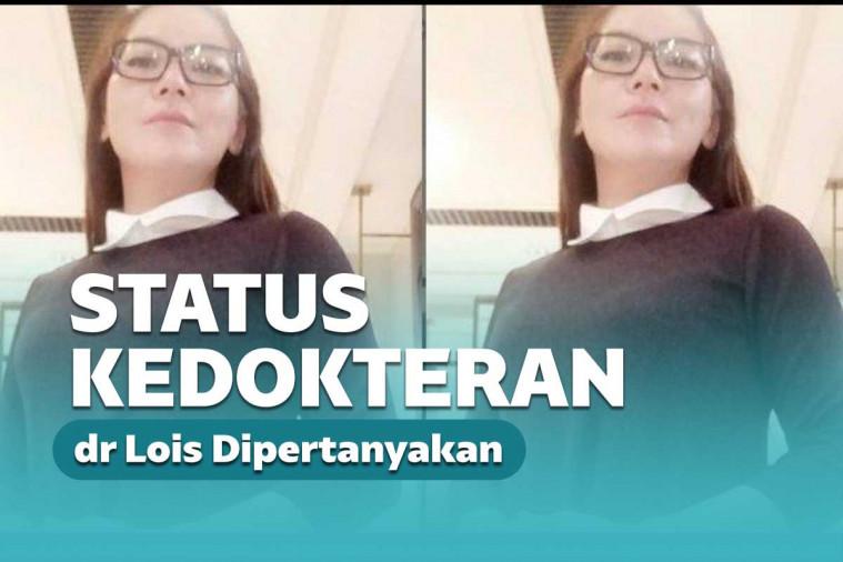 Sesumbar Tak Percaya Covid, IDI: dr Lois Sudah Lama Kadaluarsa Keanggotaannya