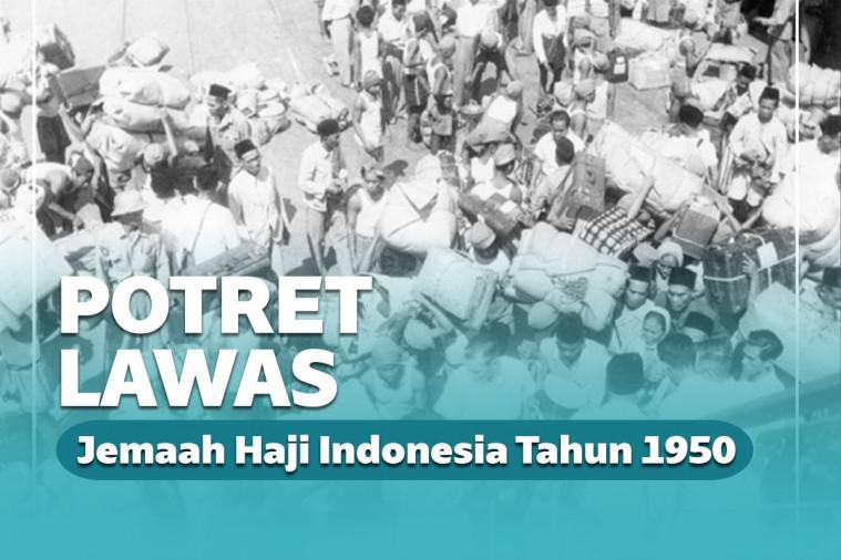 Potret Lawas Jemaah Haji Indonesia