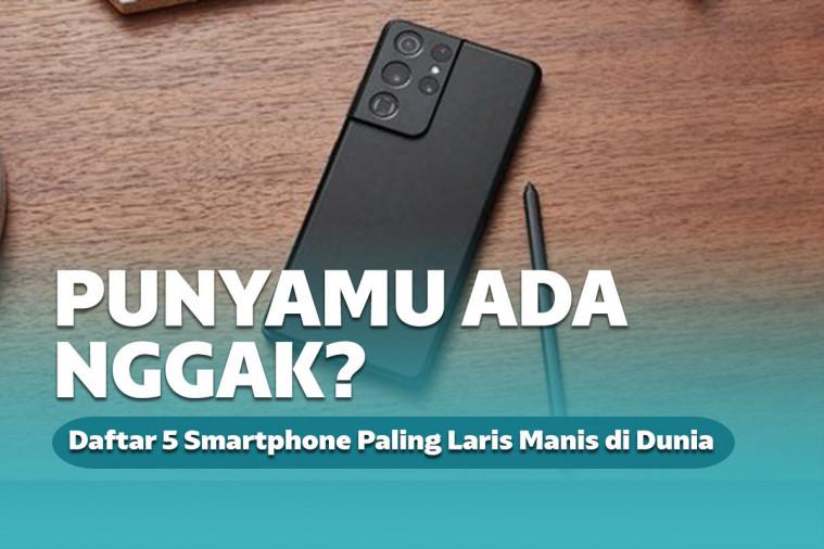 Daftar 5 Smartphone Paling Laris Manis di Dunia, Punyamu Ada Nggak? | Keepo.me