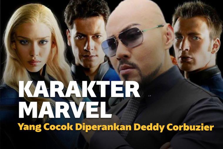 6 Karakter Marvel yang Cocok Diperankan Deddy Corbuzier, Kira-Kira yang Mana ya? | Keepo.me
