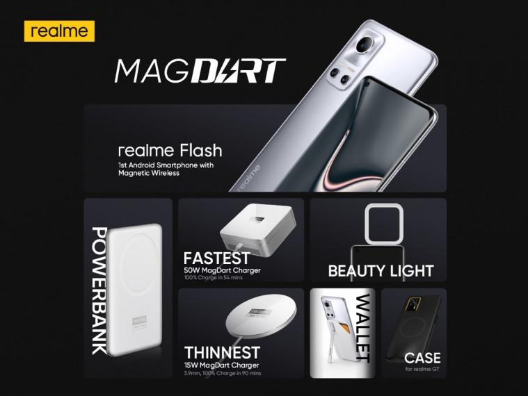 RealMe Meluncurkan MagDart Pengisian Nirkabel Magnetik Tercepat di Dunia, Menjadi Pelopor Industri untuk Membangun Ekosistem Magnetik | Keepo.me