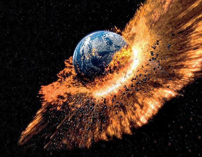 bumi terbakar