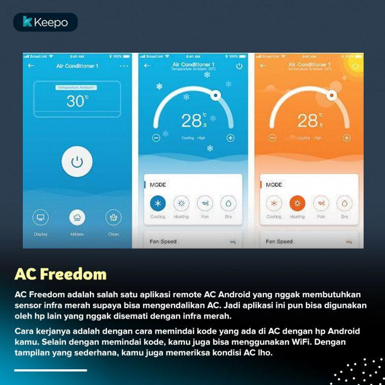 7 Aplikasi Remote Ac Terbaik Tanpa Ribet