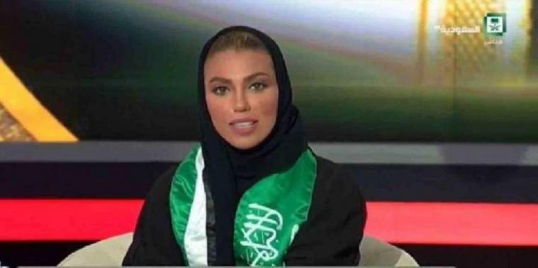 Presenter perempuan di Arab Saudi