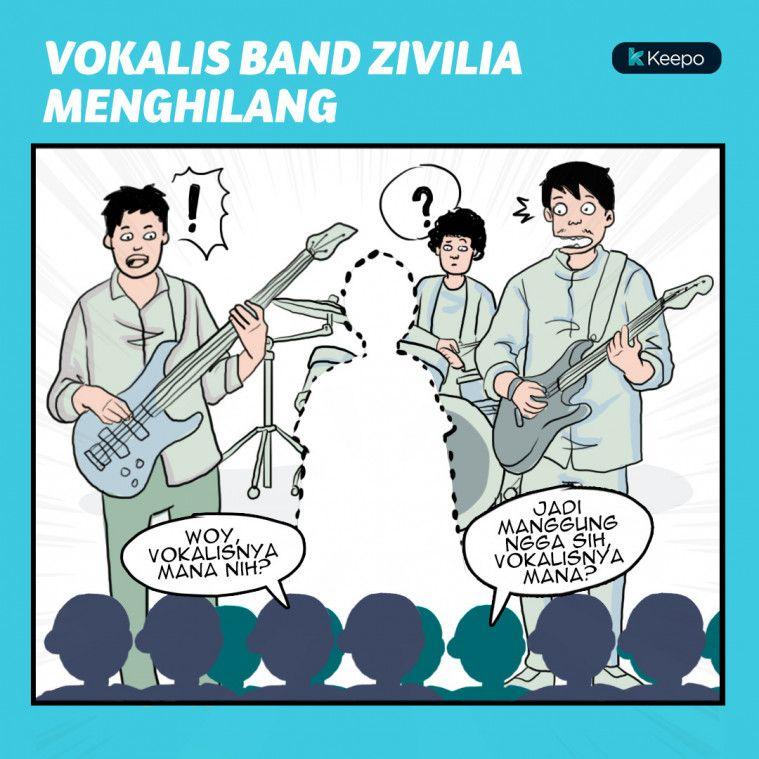Vokalis Band Zivilia Tiba-tiba Menghilang Sesaat Sebelum Manggung DiBone