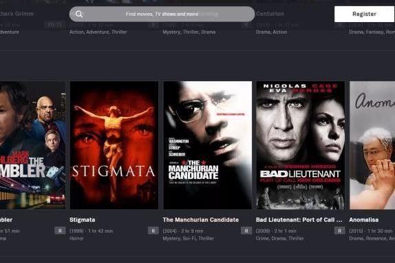 Tubi TV aplikasi nonton film India