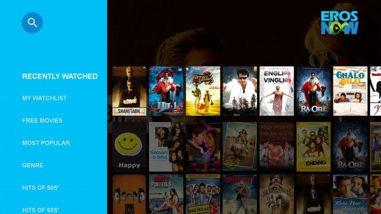 Eros Now aplikasi nonton film India