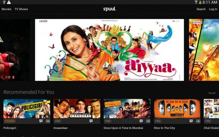 Spuul aplikasi nonton film india