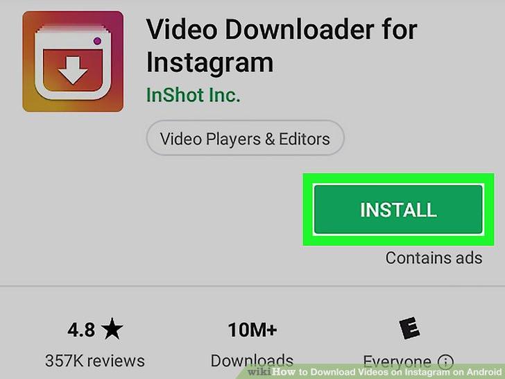 10 Cara Download Video Instagram Yang Termudah