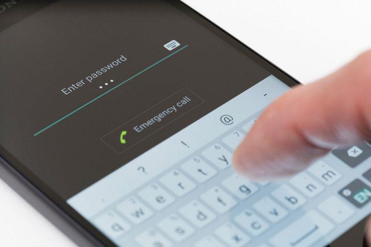 password smartphone