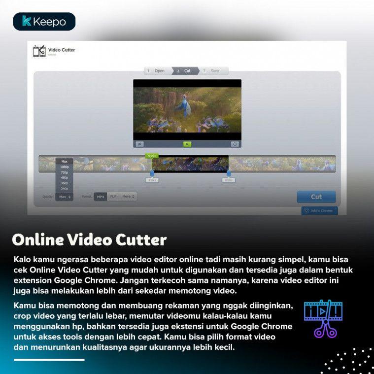 Video editor online