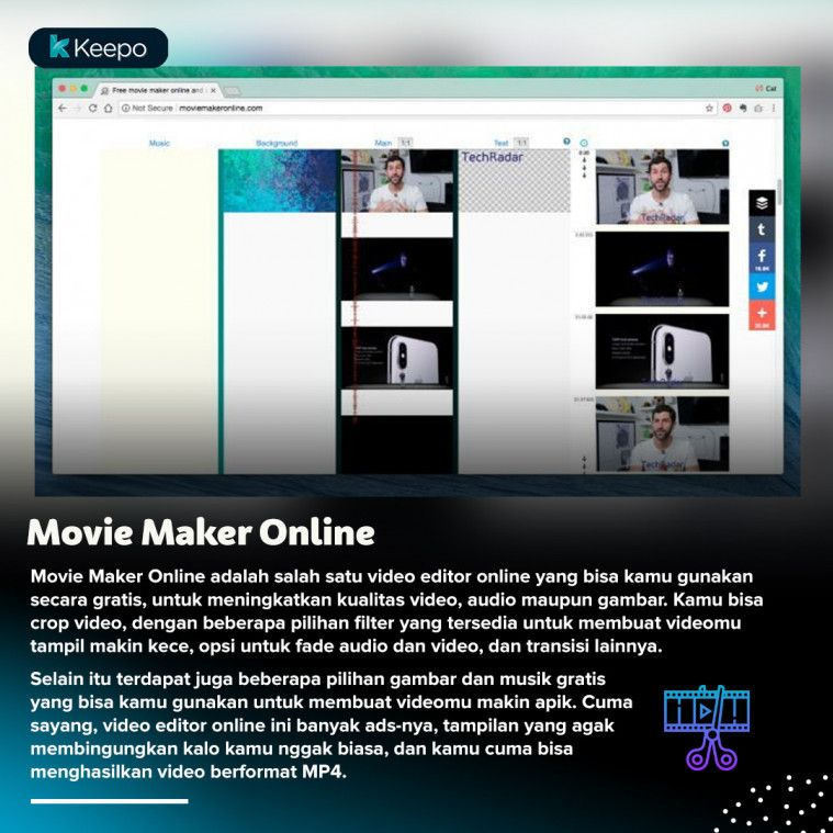 Gratis Tanpa Install Ini 7 Video Editor Online Berkualitas Terbaik
