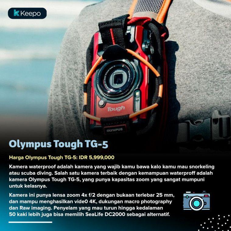 kamera Olympus Tough TG-5