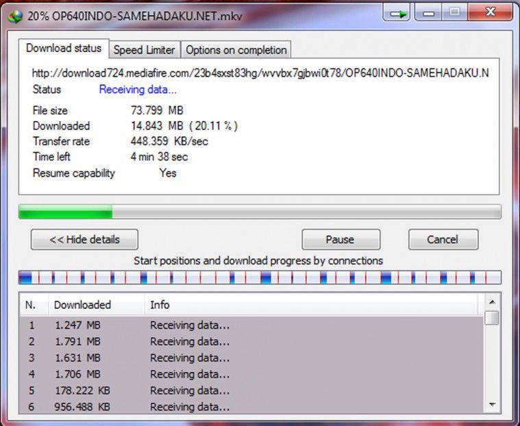 cara download film