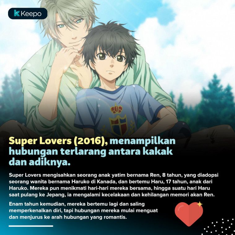 5 Kisah Cinta Anime yang Termasuk Kategori Hubungan Terlarang