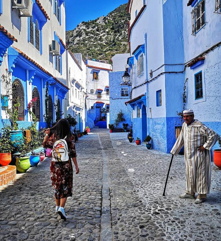 destinasi wisata aesthetic maroko