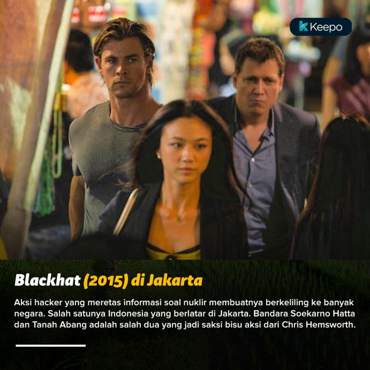 film hollywood syuting di Indonesia