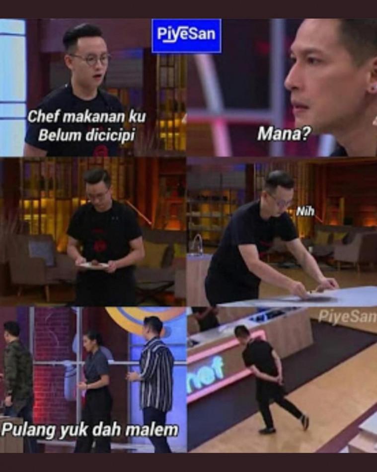 15 Meme Komentar Juri Masterchef Indonesia Ini Bikin Ngakak