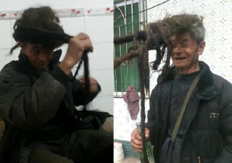 Pria China tak potong rambut selama 54 tahun