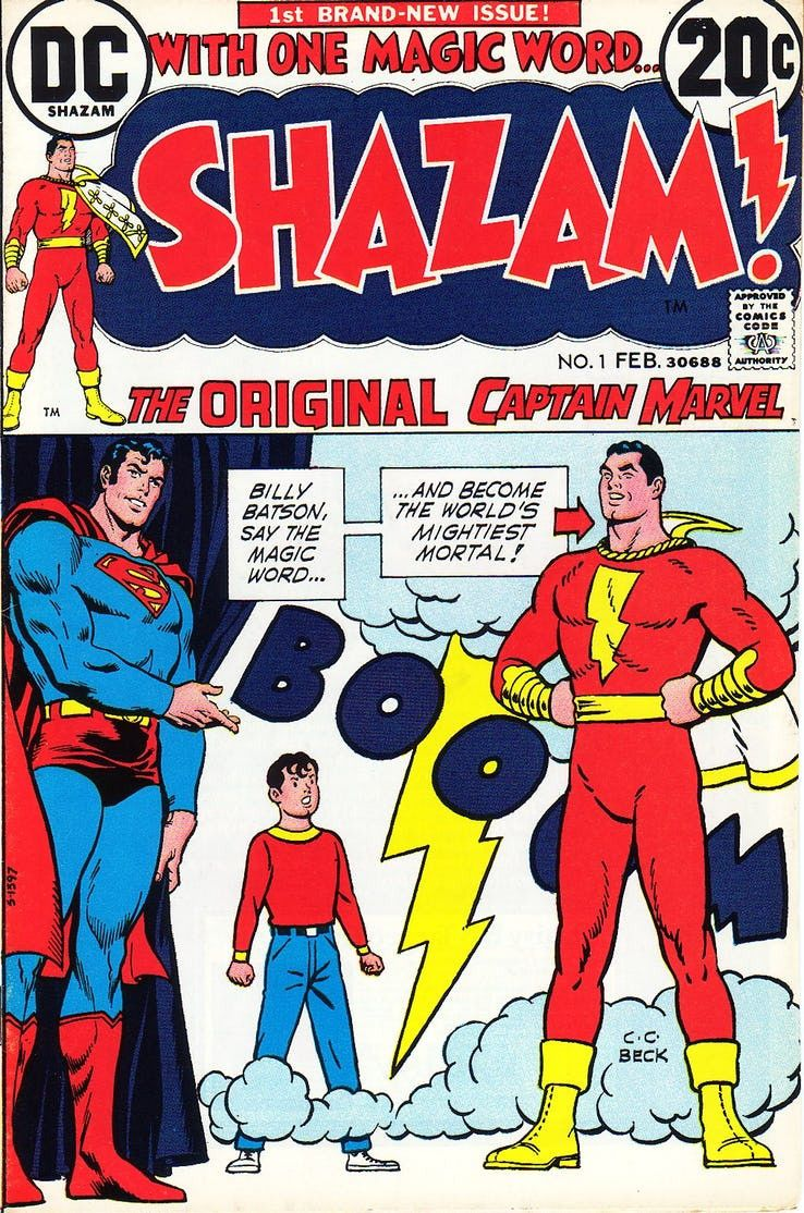 shazam vs superman