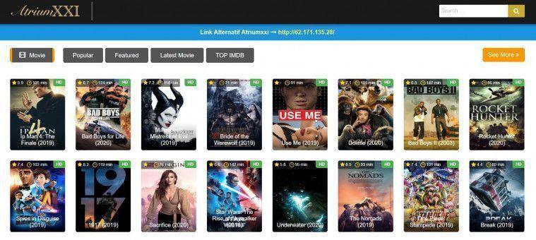 Kumpulan Situs Download Film Terbaru dan Terbaik 2019