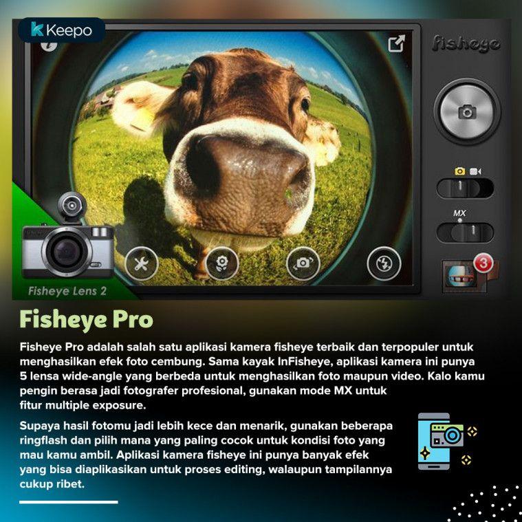 aplikasi kamera fisheye terbaik Fisheye Pro