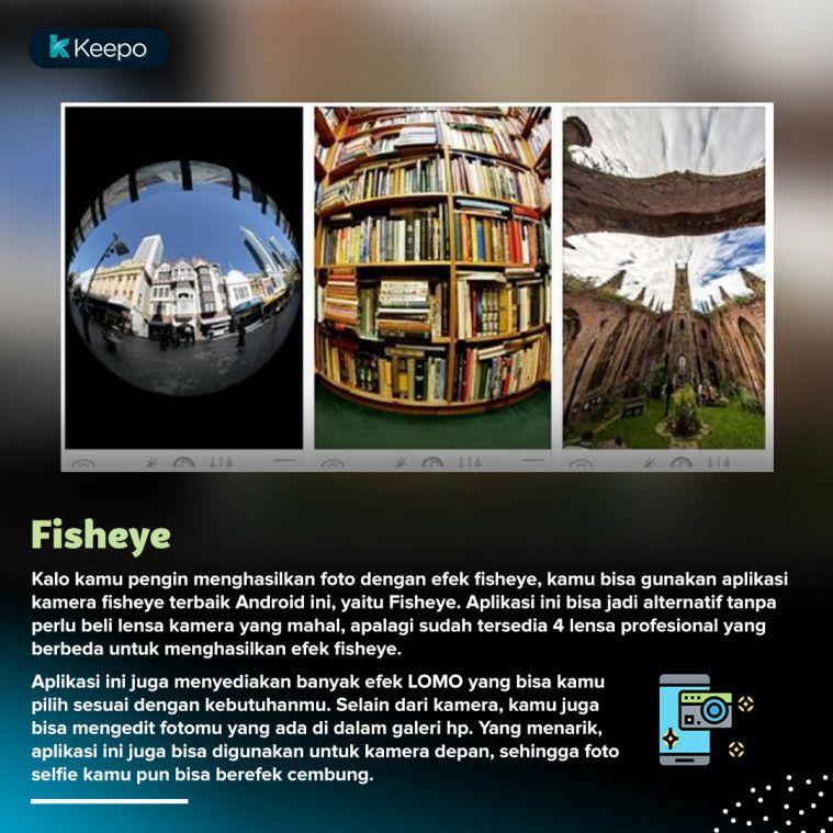 aplikasi kamera fisheye terbaik android Fisheye
