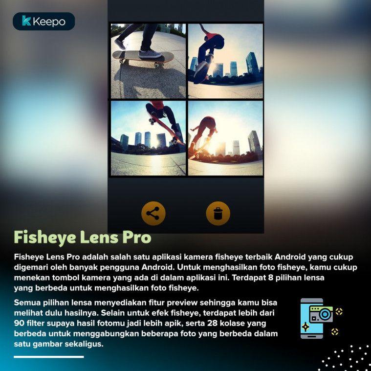 aplikasi kamera fisheye android terbaik Fisheye Lens Pro
