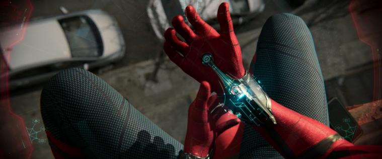 Kostum Canggih SpiderMan Tembakan jaring