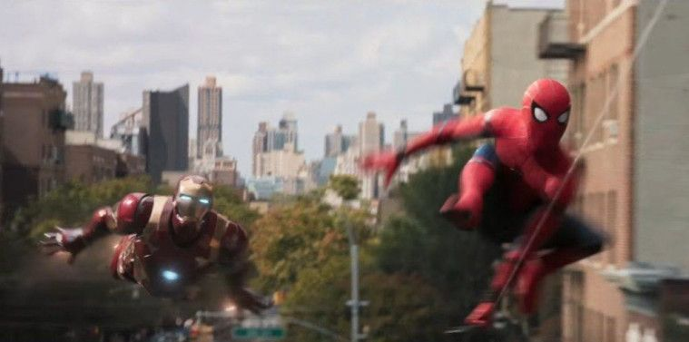 Kostum Canggih SpiderMan GPS