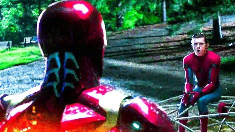 Kostum Canggih SpiderMan Heater / Penghangat