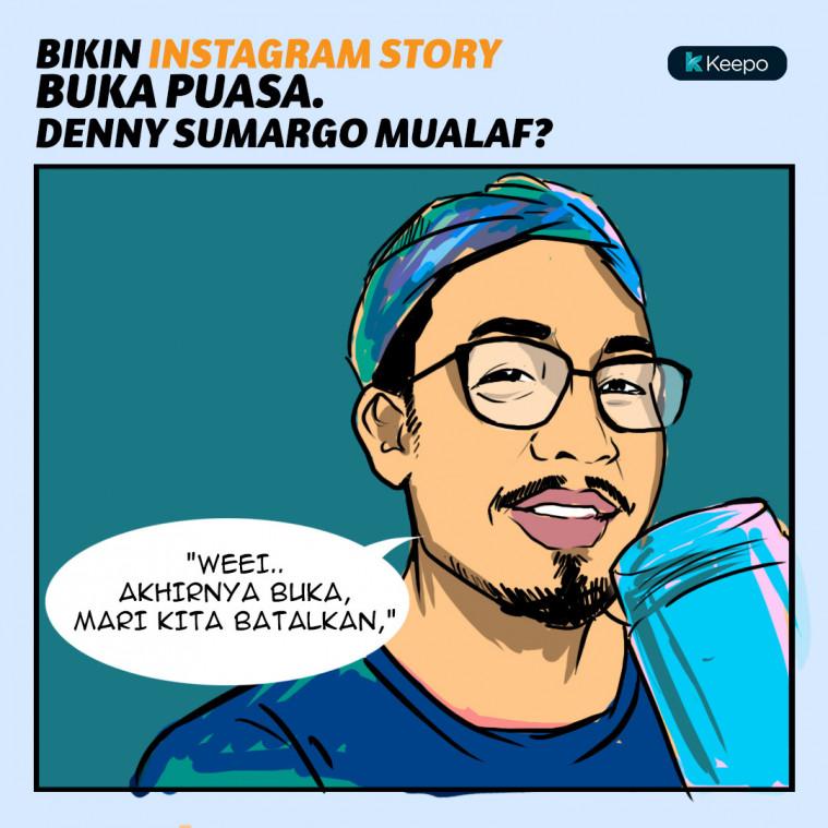 Denny Sumargo mualaf?
