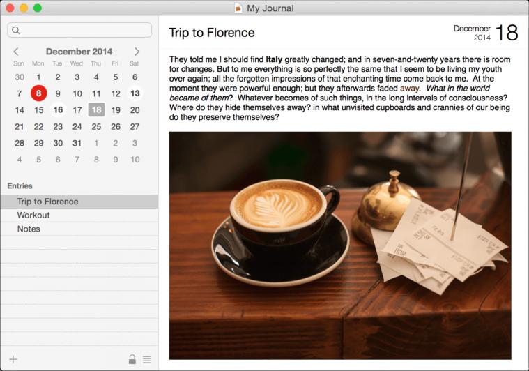 Aplikasi Diary dan Jurnal Memoires