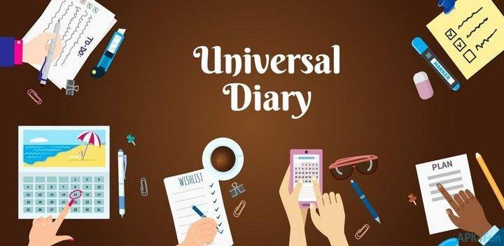 Aplikasi Diary dan Jurnal Universum
