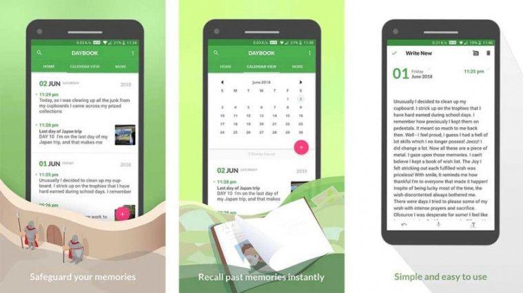 Aplikasi Diary dan Jurnal Offline Diary