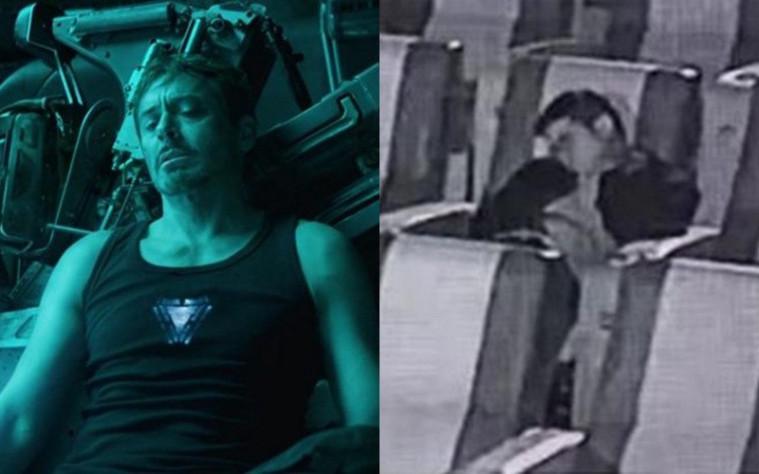Tertidur di bioskop