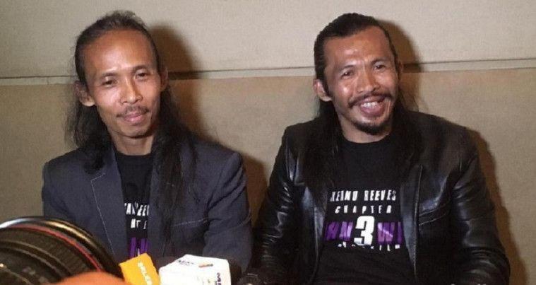 Yayan Ruhian dan Cecep Arif Rahman