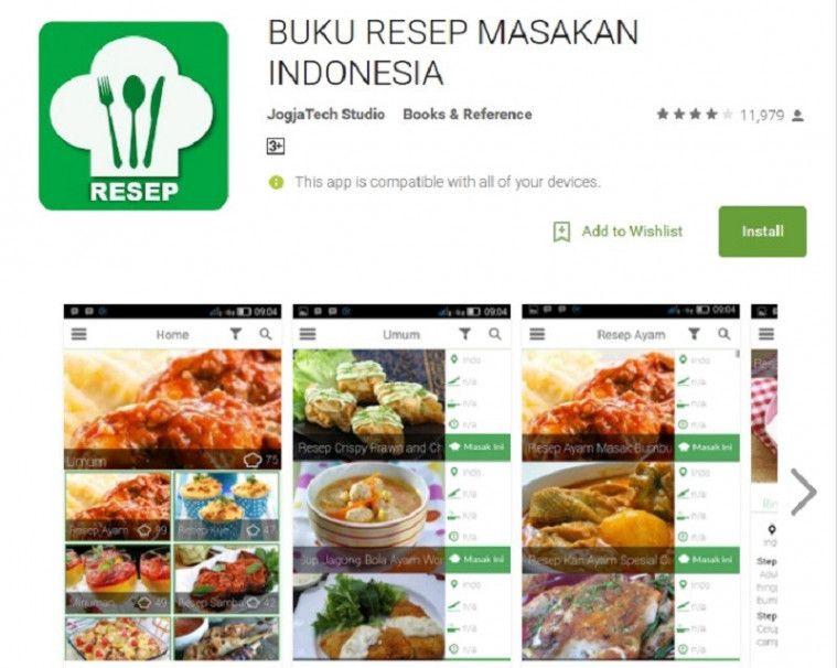 5 Aplikasi Resep Makanan Terbaik Dan Gratis Di Android