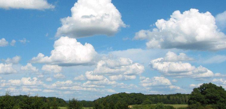 Berat awan cumulus